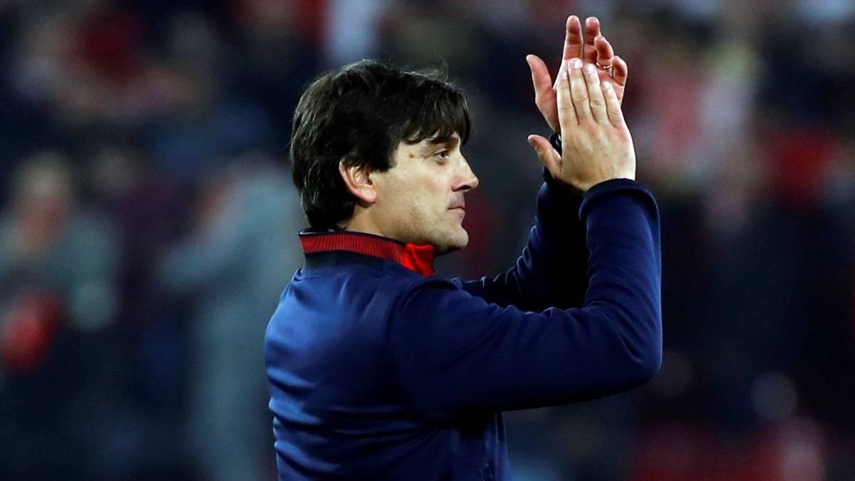 Montella ha llevado al Sevilla a la final de la Copa del Rey.