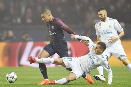 Lucas Vázquez no se asusta ni ante M'Bappé ni ante nadie.