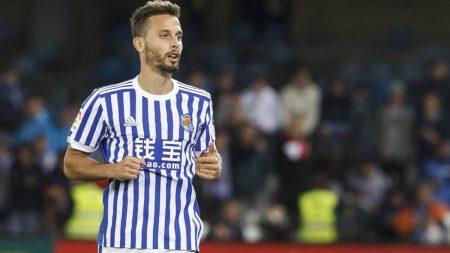 Sergio Canales está recuperando su mejor fútbol, pero su contrato con la Real Sociedad termina en verano.
