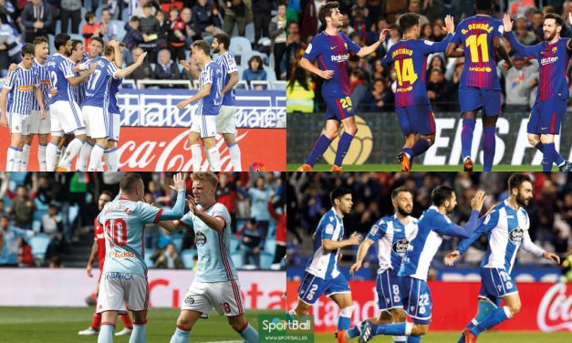 11 ideal La Liga jornada 31