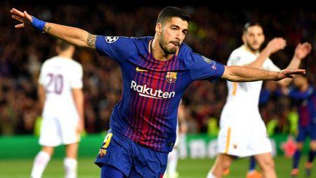 Análisis táctico Barcelona vs Roma: Suárez ve puerta, rome su sequía y sentencia.