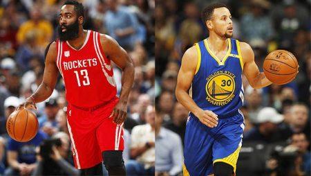 Los líderes del oeste, frente a frente en la hipotética final de la NBA. hollywoodlife.com