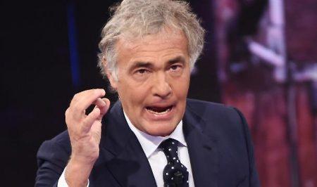 Massimo Giletti, presentador del programa donde se habla de este nuevo escándalo en el fútbol italiano.