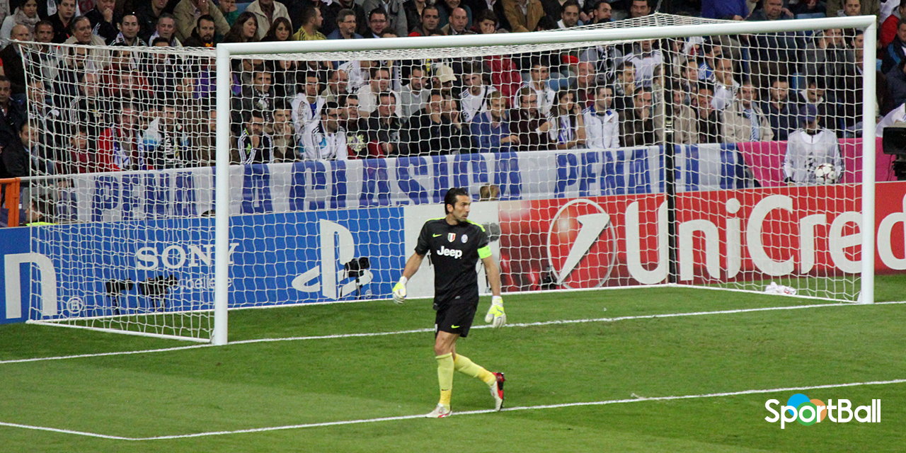 Buffon Champions vs Real Madrid