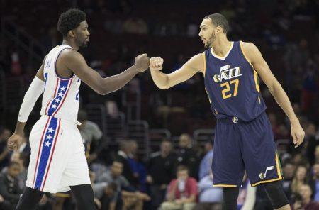 Quinteto defensivo de la NBA: Embiid y Gobert un duelo defensivo de altura.