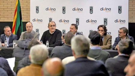 Junta General de Accionistas de la Penya celebrada el pasado mes de marzo, dando oxígeno al Joventut.
