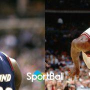 LeBron James y Michael Jordan... a los 34 años de edad