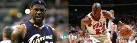 Comparación LeBron James vs Michael Jordan
