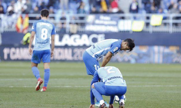 Málaga CF: del cielo al infierno en 5 años