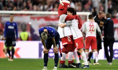 La mayor gesta de la historia del Red Bull Salzburg fue la eliminación de la Lazio de la UEFA Europa League.