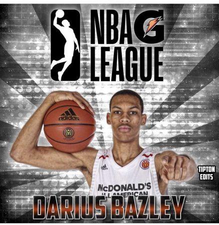 Anuncio de Darius Bazley de su paso a la G League