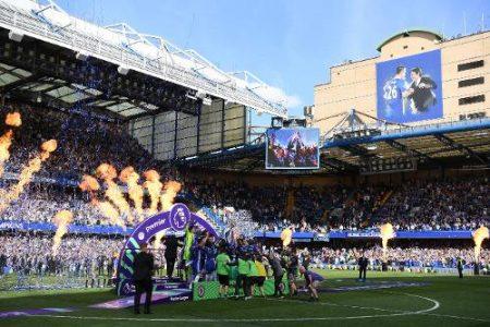 Chelsea campeón de la temporada 2016-2017 con Antonio Conte.