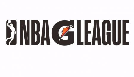 Logo de la NBA G League, a la que irá Darius Bazley.