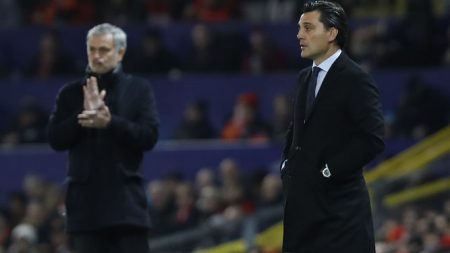Manchester United vs Sevilla de Champions League 2017-2018.