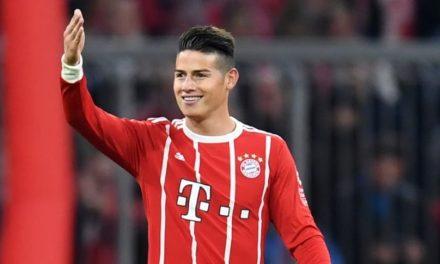 James Rodríguez está enseñando toda su magia en el Bayern Munich