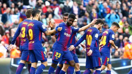 Muy buena temporada del Barça en Liga y copa.