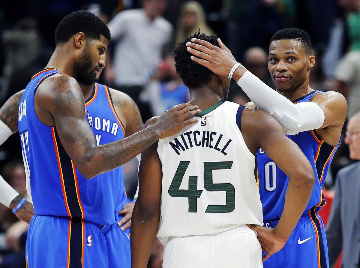 Día 2 de PlayOffs de la NBA.