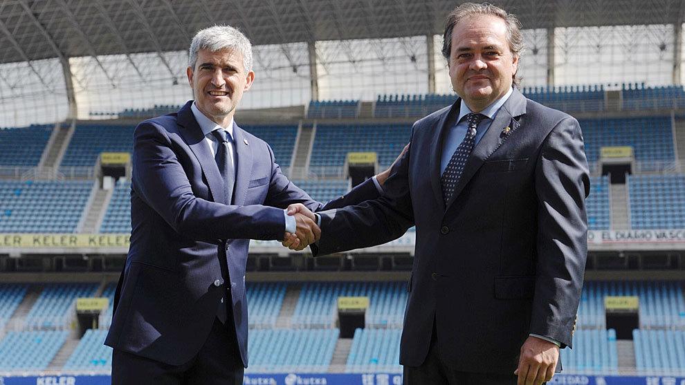Olabe fue presentado como Director de Fútbol el verano del 2016 (Marca.com)