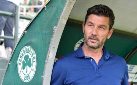 Marinos Ouzounidis es el actual entrenador del Panathinaikos.