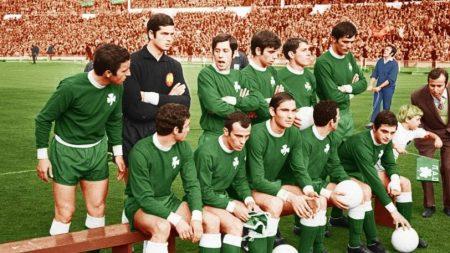 El Panathinaikos rozó la gloria en Wembley en la final de la Copa de Europa de 1971 frente al Ajax.