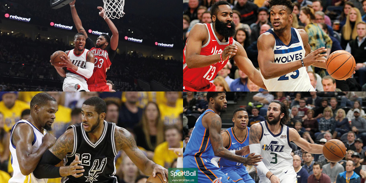 Playoffs NBA Conferencia Oeste.