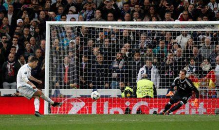 Madrid jugó muy mal pero Cristiano lo rescató