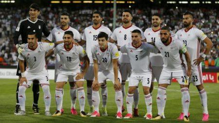 Actualmente Irán ocupa la 36º posición en el Ranking FIFA