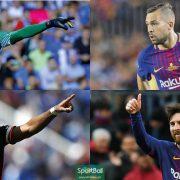 El 11 ideal LaLiga 2017-18 y los 33 mejores jugadores