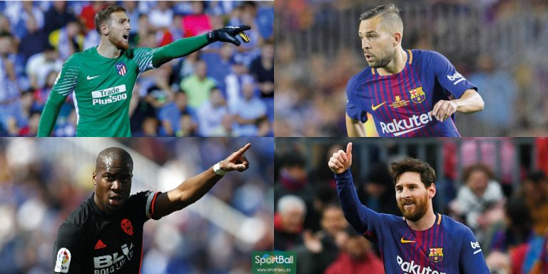 11 ideal LaLiga 2017-18