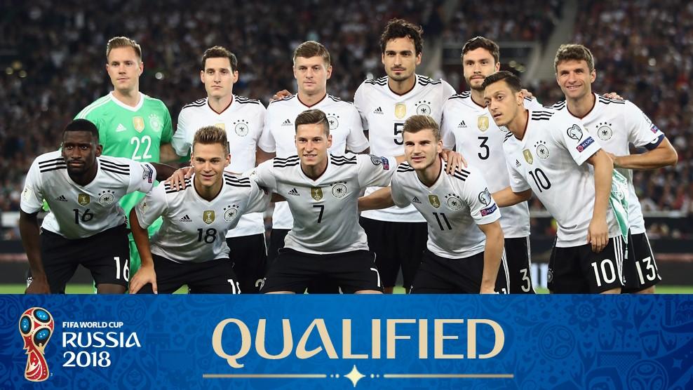 Alemania Mundial Rusia 2018