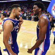 Ben Simmons y Joel Embiid: el mejor dúo de la NBA