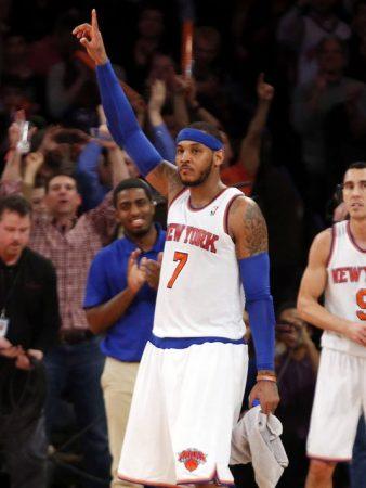 Carmelo Anthony Madison Square Garden