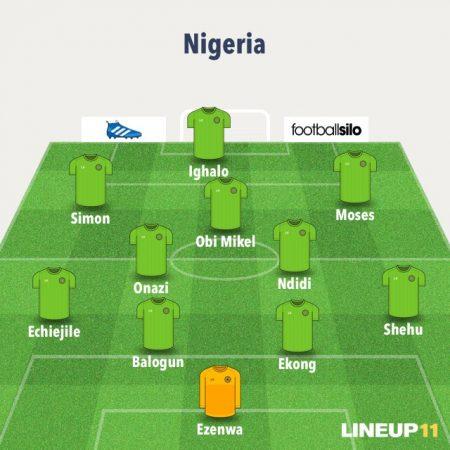 11 titular de Nigeria Mundial de Rusia 2018