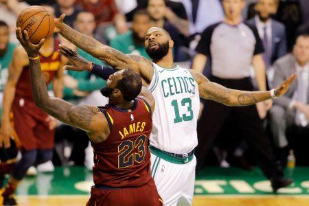 Game 2 entre Celtics y Cavaliers