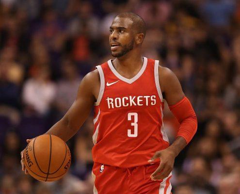 Chris Paul lleva la batuta de los Rockets. Imagen vía Dream Shake