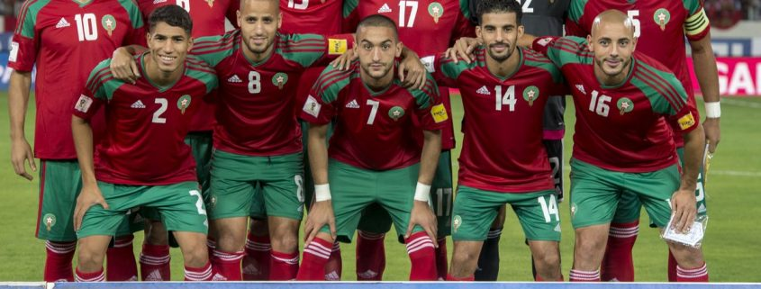 Marruecos Rusia 2018