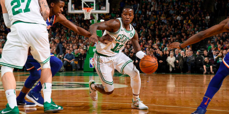 Rozier supera a un defensa. Despachoceltics.com