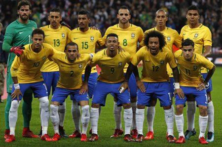11 titular de Brasil