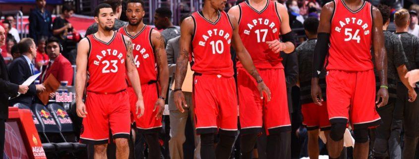 Plantilla Toronto Raptors 2017/18