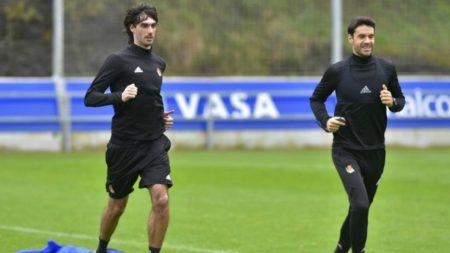 Xabi Prieto y Carlos Martínez