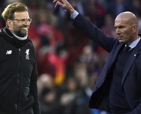 Zidane vs Klopp Champions