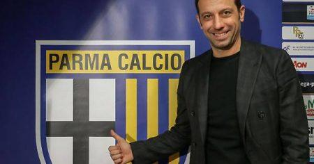 Roberto D'Aversa, técnico artífice de un doble ascenso con el Parma. Gazzetta di Parma