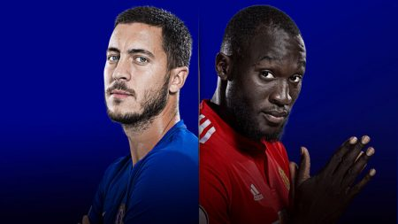 Chelsea vs United Hazard y Lukaku