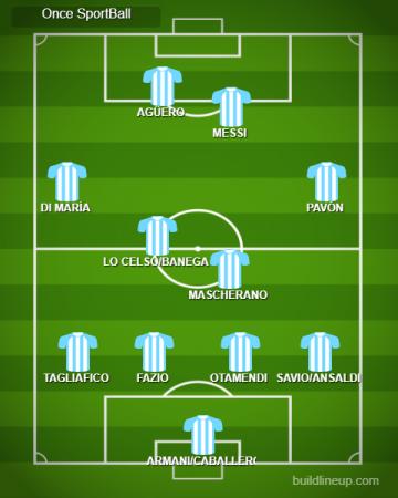 11 titular Argentina Mundial 2018