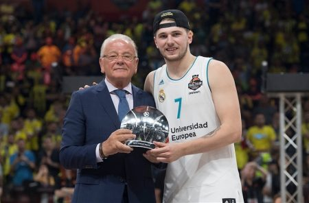 Euroliga 2017-2018. Luca Doncic: MVP de la Final 2018 www.euroleague.net