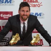 Leo Messi Bota de Oro