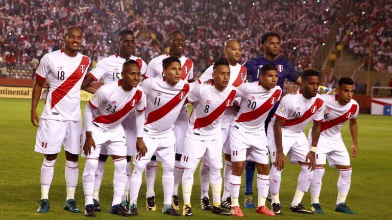 Perú Mundial Rusia 2018