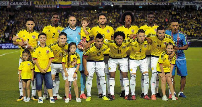 Colombia Mundial de Rusia 2018