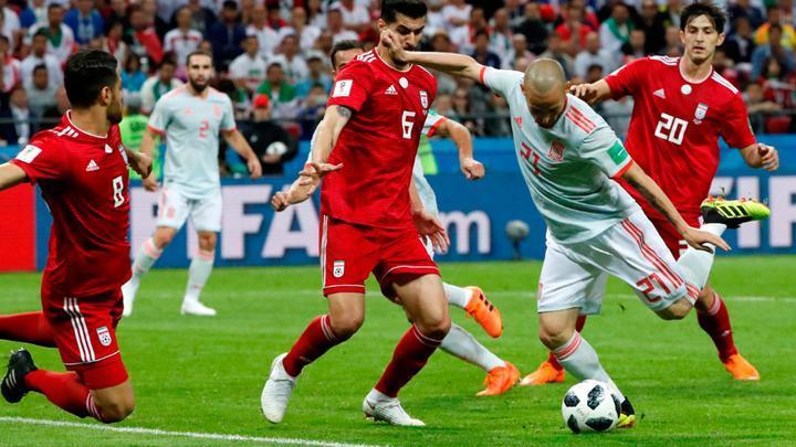 Resumen Irán Mundial Rusia vs España