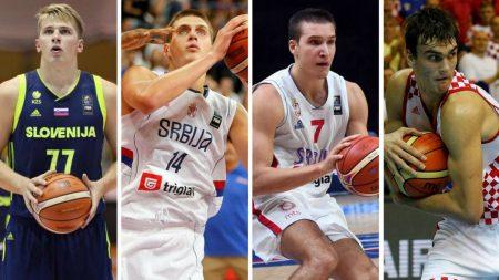 Selección Yugoslava: Doncic, Bogdanovic y Saric